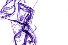 Humo púrpura Imágenes de archivo libres de regalías