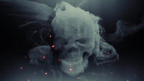 Humo principal del cráneo del fantasma de la animación libre illustration