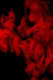 Humo rojo Fotografía de archivo libre de regalías
