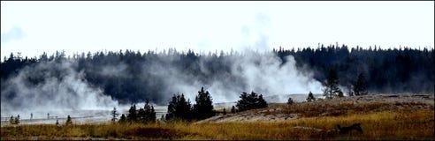Humo sin fuego Fotografía de archivo libre de regalías