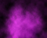 Humo sobre fondo púrpura Fotos de archivo libres de regalías