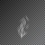 Humo transparente en fondo oscuro Vector 10eps Fotos de archivo libres de regalías