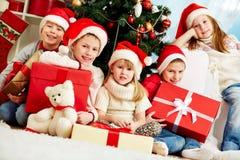 Humor de la Navidad Imagenes de archivo