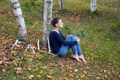 Humor del otoño, Monroe County, Wisconsin, los E.E.U.U. Foto de archivo libre de regalías
