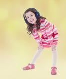Humor del verano una niña Foto de archivo libre de regalías