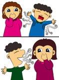 humor higiena ilustracji
