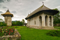 Humor Monastery, Romania. Royalty Free Stock Photo