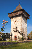 Humor Monastery Tower Stock Image