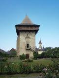 Humor monastery tower Stock Photos