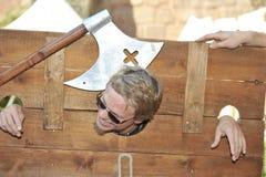 Humor preto, festival medieval, Nuremberg 2013 Imagem de Stock