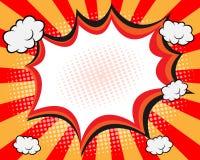 Humorbokanförandebubbla stock illustrationer