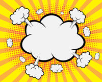 Humorbokanförandebubbla, bakgrund för popkonst