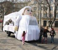 Humorina à Odessa, 1er avril 2011, Ukraine Photos libres de droits