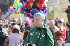 Humorina el 1 de abril de 2011 en Odessa Imagen de archivo libre de regalías