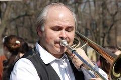 Humorina em Odessa, abril 1, 2011, Ucrânia Imagem de Stock