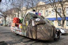 Humorina en Odessa, el 1 de abril de 2011, Ucrania Fotos de archivo libres de regalías