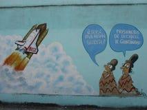 Humoristas against war, Santa Clara, Cuba. On the 40th anniversary of the Cuban humorist publication Melaito a handful of the most acknowledged Cuban satirists Stock Photo