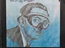 Humoristisk hedersgåva till Salvador Dali Royaltyfria Bilder