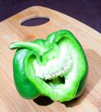 Humorous Bell Pepper Stock Photography