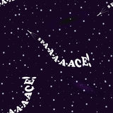 Humorous seamless pattern on the theme of space exploration Royalty Free Stock Photo