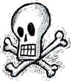 Humorous skull Royalty Free Stock Image