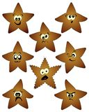 Humorous stars Stock Photo