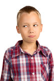 Humorous Young Boy Royalty Free Stock Images