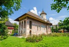 Humorului Orthodox Monastery in Moldavia Region of Romania Stock Photo