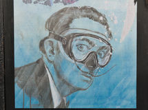 Humorvoller Tribut zu Salvador Dali Lizenzfreie Stockbilder