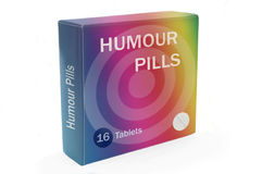 Humour boost concept. Royalty Free Stock Photos