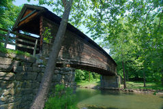 Humpback Covered Bridge Stock Images