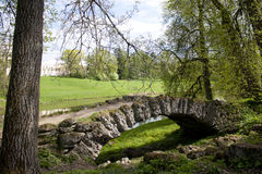 Humpback most, Pavlovsk park Obraz Stock