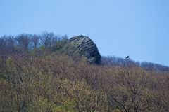 Humpback Rock on the Blue Ridge Parkway Royalty Free Stock Photos