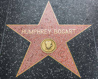 Humphrey Bogart Star on the Hollywood Walk of Fame Royalty Free Stock Photo