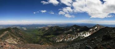 пик панорамы humphreys Стоковое Изображение RF