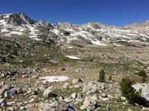 Humphreys Basin Hike to Pilot Knob Stock Photography