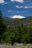 Humphreys Peak, the highest point in Arizona,. Near Flagstaff Stock Image