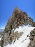 Humphreys Peak summit. The 13986 foot Humphreys Peak summit in the Sierra Nevada mountains of California Royalty Free Stock Photo