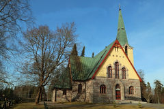 Humppila Church, Finland Stock Image