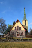 Humppila Church, Finland Royalty Free Stock Photos
