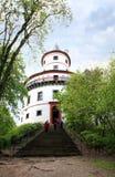 Humprecht城堡在Sobotka,捷克 图库摄影