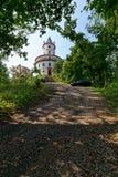 Humprecht大别墅巴落克式样城堡 cesky捷克krumlov中世纪老共和国城镇视图 库存照片