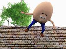 Humpty Dumpty Fotografia Stock Libera da Diritti