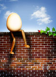 Humpty dumpty Photographie stock