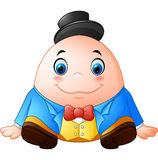 Humpty Dumpty Cartoon Stock Photography