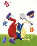 Humpty Dumpty teve uma grande queda Fotografia de Stock Royalty Free