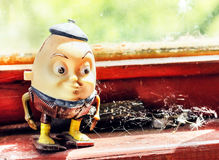 Humpty Dumpty toy old Stock Photography