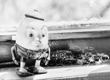 Humpty Dumpty toy old Royalty Free Stock Image