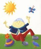 Humpty Dumpty un ancora illustrazione vettoriale