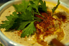 humus Royalty-vrije Stock Afbeelding